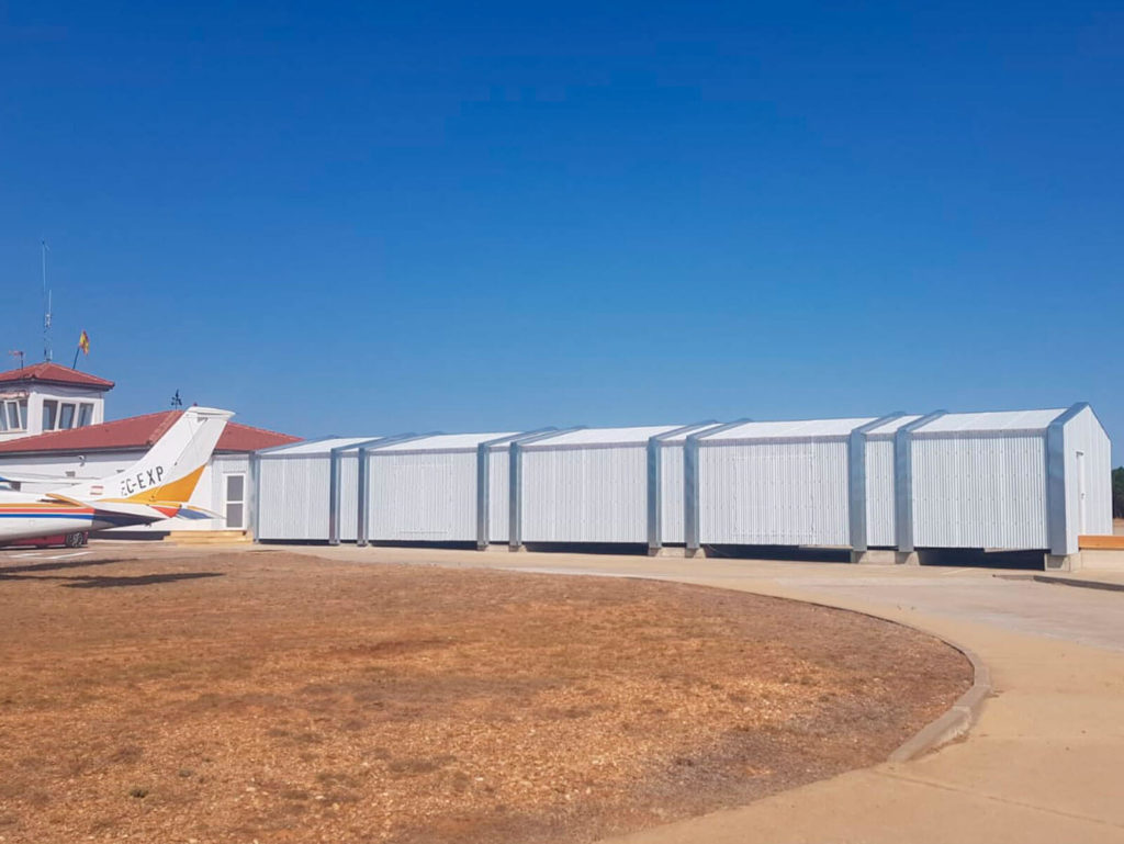 Proyecto Madera Pino Soria Aeródromo de Garray Soria