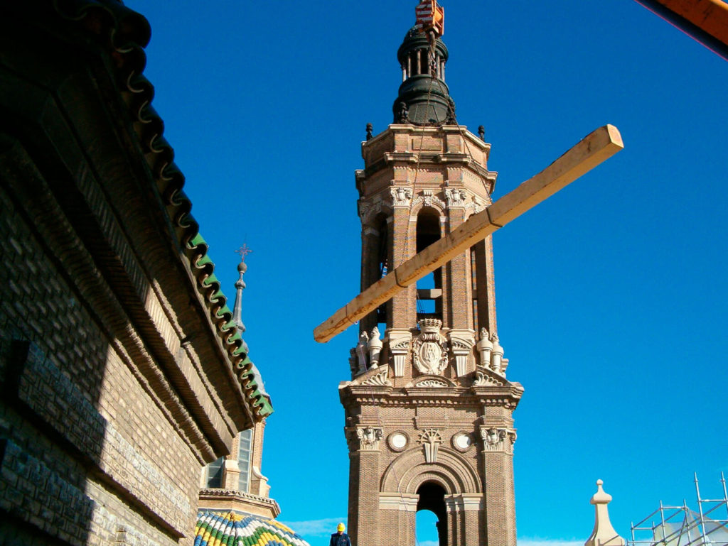 Madera Pino Soria El Pilar de Zaragoza